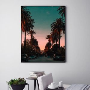 Hollywood Nights | Canvas Art