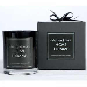 HOMME Essential Oil Candle | Limited Edition | Personally signed by Mitch and Mark