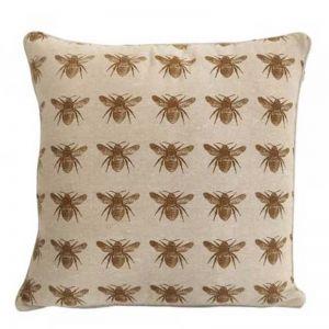 Honey Bee Cushion | Mustard