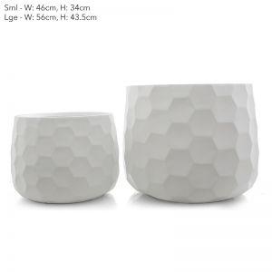 Honeycomb Pot | Set of 2