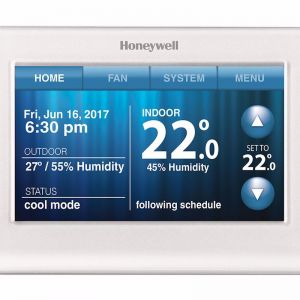 Honeywell Wifi Touchscreen Colour Thermostat | Reece Hydronic Heating