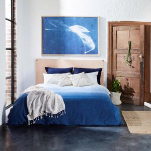Horizon Blue Quilt Cover Set | Various Sizes | Jamie Durie By Ardor
