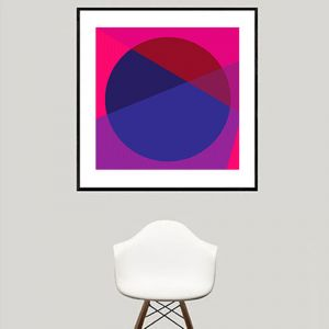 Horizon | Fuchsia | Limited Edition | Fine Art Giclee Print