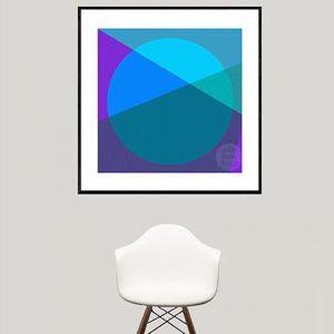 Horizon | Ultra Violet | Limited Edition | Fine Art Giclee Print