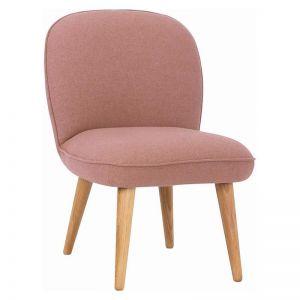 HORNET Lounge Chair - Burnt Umber Colour