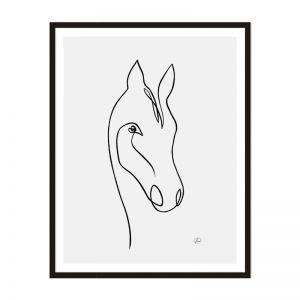 Horse 1 | Framed Print | Artefocus