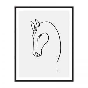 Horse 2 | Framed Print | Artefocus