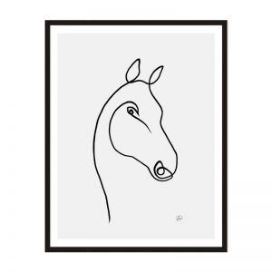Horse 3 | Framed Print | Artefocus