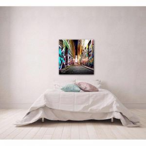 Hosier Lane | Canvas Print | by United Interiors