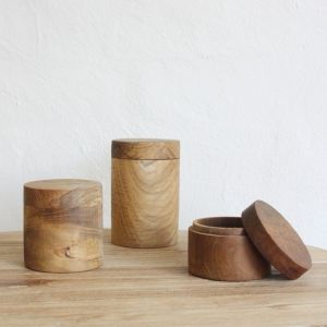 Huba Wooden Canisters | Pre Order