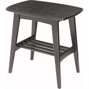 Hubie Side Table | 55cm | Black Ash | Modern Furniture