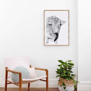 Hugo | Black And White Photographic Art Print | Unframed