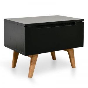 Hugo Scandinavian Side Table Black | Black | Interior Secrets
