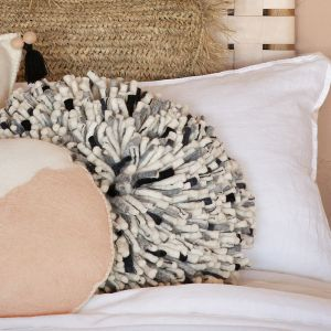 Hula Cushion | Monochrome