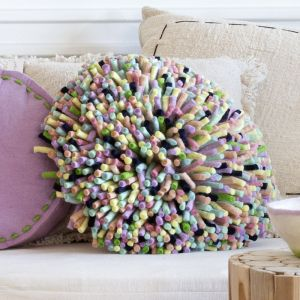 Hula Cushion | Zesty