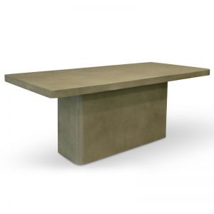 Huston 2m Rectangle Dining Table | Grey | Interior Secrets
