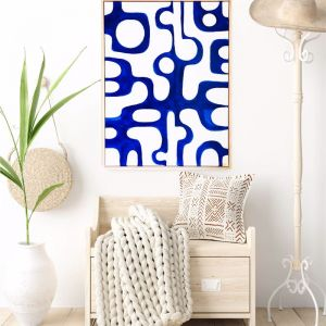 I Have This Thing With Cobalt | Original Artwork by Maggi McDonald