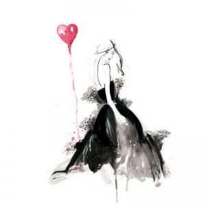 I Heart YSL | Limited Edition Unframed Print