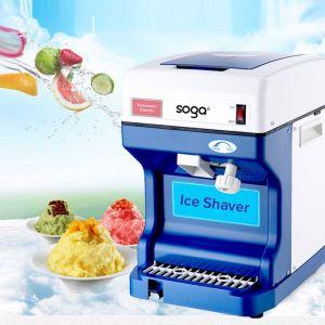 Ice Shaver   Stainless Steel Slicer Machine 120KG/Hr