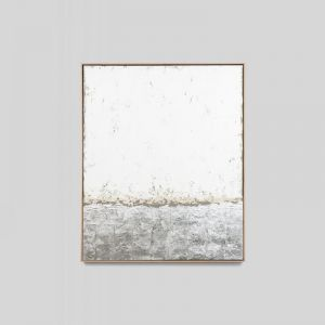 Icescape Natural   Framed Hand Painted Artwork