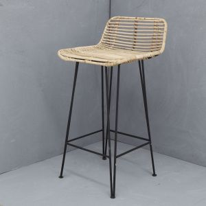 Imani Rattan Bar Stool | Natural | Pre Order