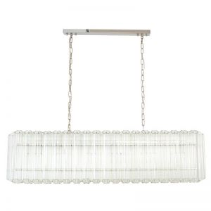 Imperial 6 Light Glass Chandelier | by Beacon Lighting