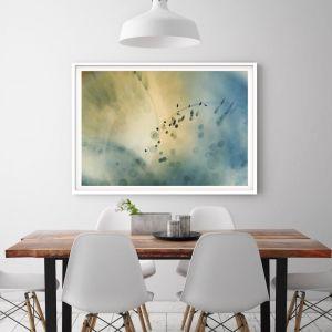 In The Estuary | Framed Art Print