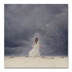 In the Eye of the Storm | Art Print by Natascha van Niekerk | Unframed