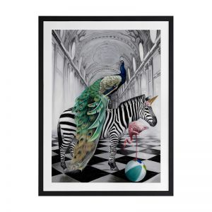 In Wonderland | Framed Art Print