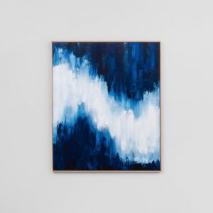 Indigo Light 1 | Sarah Brooke Canvas Artwork