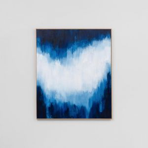 Indigo Light 2 | Sarah Brooke Canvas Artwork