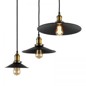 Industrial Filament Vintage Steel Pendant Light | PRE-ORDER