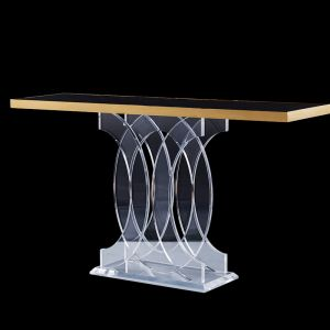 Infinity Lucite Acrylic Console Side Board Table | Customisable