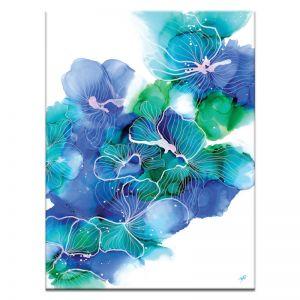 Ink Flower 12 | Julie Marie | Canvas or Print By Artist Lane