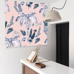 Ink Palm in Pink by Libby Watkins