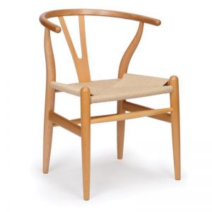 Inspire Dining Chair | Natural Frame | Natural Cord Seat