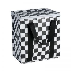 Insulated Cooler Bag | Poly | Checkerboard