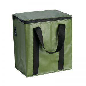 Insulated Cooler Bag | Poly | Khaki