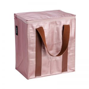 Insulated Cooler Bag | Poly | Rose Gold