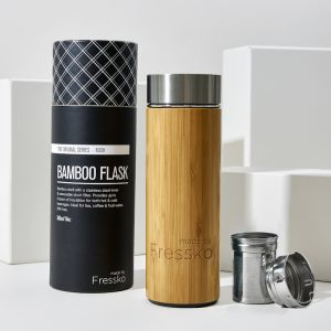 Insulated Flask | Rush Bamboo 300ml / 10oz