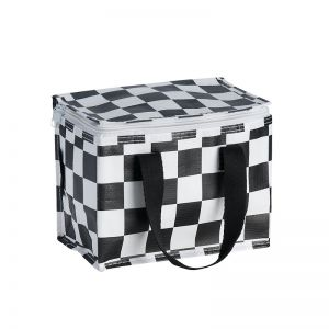 Insulated Lunch Box | Poly | Checkerboard