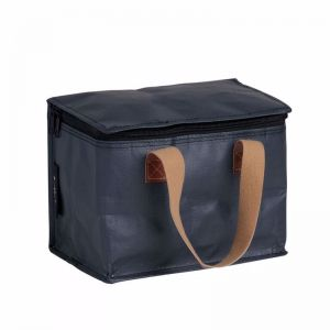 Insulated Lunch Box | Poly | Stealth Black
