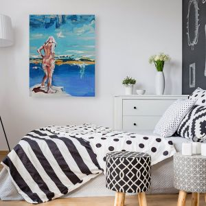 Into The Deep Blue by Kathryn Fenton | Ltd Edition Canvas Print | Art Lovers Australia