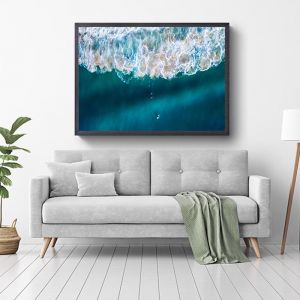 Into the Deep | Framed Photographic Art Print by Sharyn Coffee