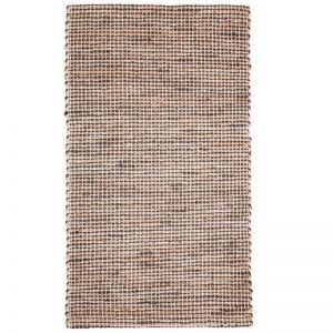 IRIS Deep Grey Jute Rug | Fab Habitat | Various Sizes