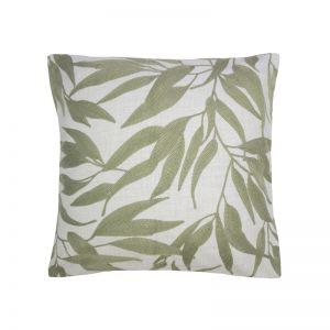 Ironbark Square Cushion   Sage
