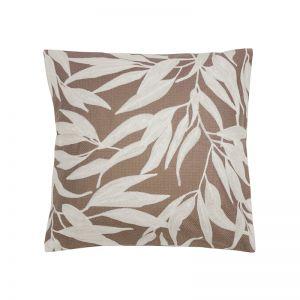 Ironbark Square Cushion   Woodrose