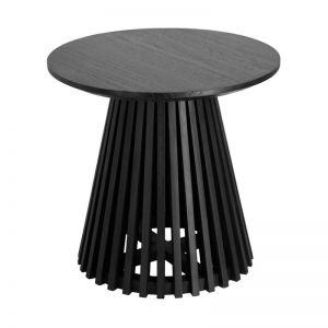 Irune Black Side Table