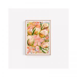 Isla Unframed Art Print | Banksia Botanicals | Australian Native Floral