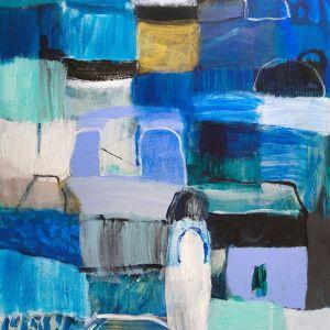 Island Hopper | Unframed Print by Diana Miller